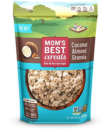 Mom's Best Coconut Almond Granola Cereal, 6Count