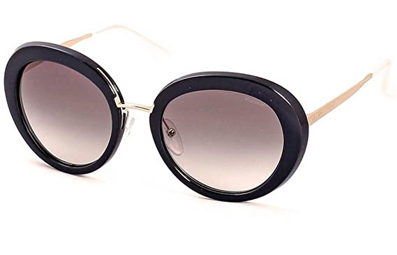 9c1f9358ce6 Amazon.com  Prada SPR 16Q Sunglasses 55 mm Black  Clothing