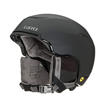 Giro Terra MIPS Casco de esquí/Snow, Mujer, Matte Black, 52-