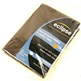 eclipse expresso curtain - Eclipse Samara Blackout Energy-efficient Valance Expresso
