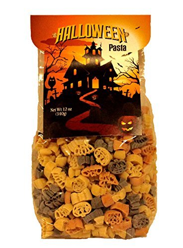 Plentiful Pantry Halloween Novelty Shape Pasta, 12