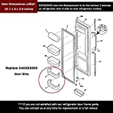AMI PARTS 240323002 Refrigerator Lower Door Clear