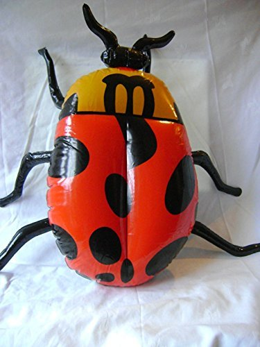 Inflatable Insects (Maxim PVC Inflatable Toy - Insect Bug - Ladybird by Maxim)