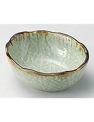Suigyoku Konoha 4 7inch Set Of 10 Small Bowls Green Porcelain Made In Japan