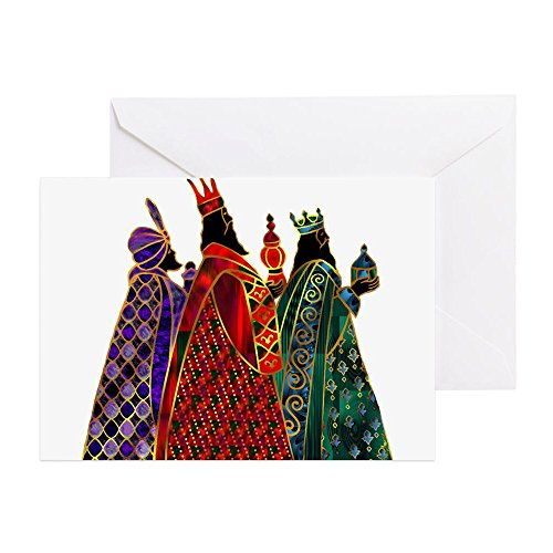 (CafePress - Wise Men - Greeting Card (20-pack), Note Card with Blank Inside, Birthday Card Matte)