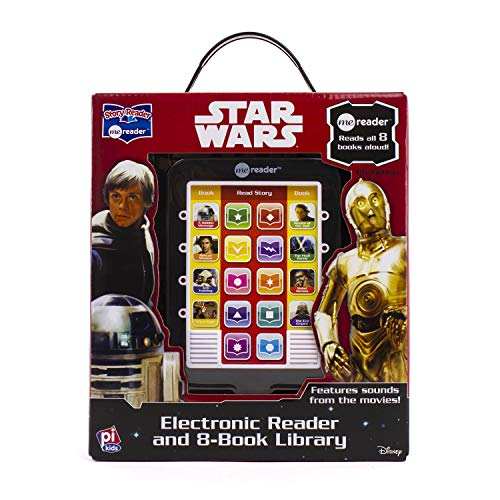 Star Wars Saga - Me Reader Electronic Reader and 8-Book Library - PI - Readers Motivating