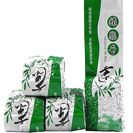 Grado superior Anxi Tieguanyin té 1 bolsa de té oolong 125g ...