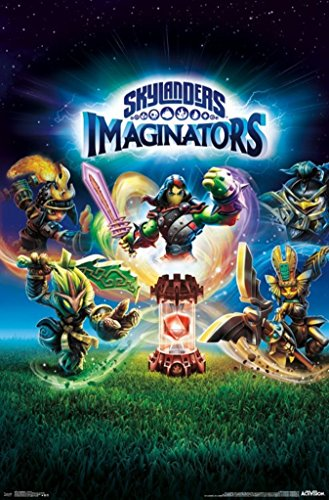 Skylanders-Imaginators-Key-Art-Video-Gaming-Poster-22x34
