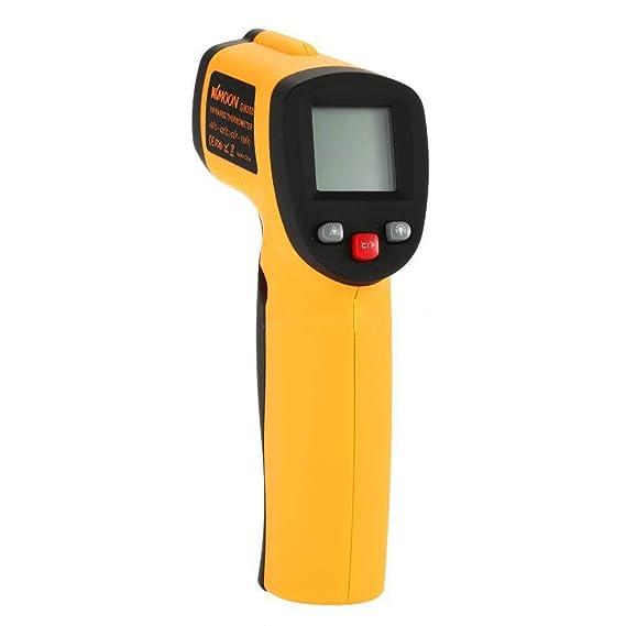Computadora de mano sin contacto IR láser termómetro infrarrojo pistola de temperatura digital UK: Amazon.es: Bricolaje y herramientas
