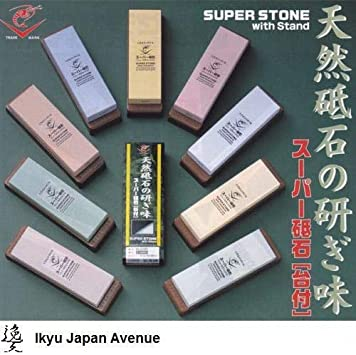 Naniwa Super Stone New Ceramic with Stand Grit #220 IN-2002