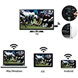 GGMM V-Linker 2.4G HDMI Streaming Media Player, Wireless Wi-Fi Display MiraCast Dongle | Easily Mirror Videos/Photos/Docs/Camera/Music from any Smart Devices to TV, Monitor or Projector | Supports EZCast, DLNA, Airplay