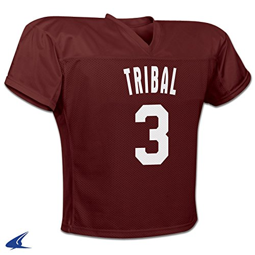 Youth Goalie Skates - Tribal Football/Lacrosse Jersey S Maroon Youth