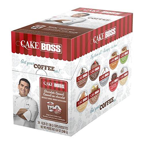Cake Boss Coffee, Chocolate Cannoli, 24 Count