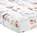 Lambs-Ivy-Little-Woodland-Forest-Animals-4-Piece-Crib-Bedding-Set-PinkWhite