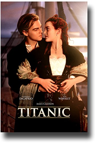 Titanic Poster - Movie Promo 11 x 17 inches Leonardo DiCapri
