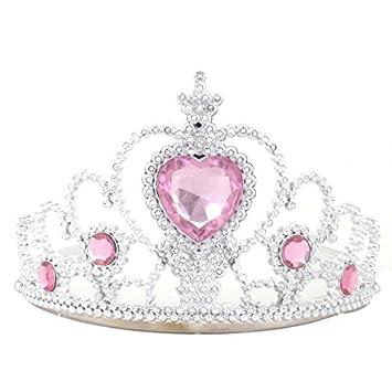 disponibilidad en el reino unido pero no vulgar seleccione para mejor Amazon.com: eDealMax Rhinestone plástico Corona de la Tiara ...
