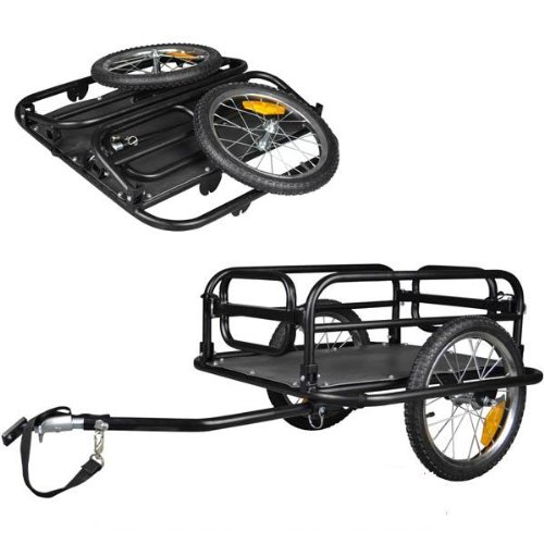 Lowest Price! Veelar Foldable Bicycle Cargo Trailer Shopping/Utility Trailer-20300