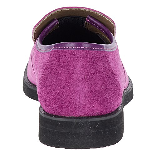 Hush Puppies Mens Bracco Mt Slip On Slip-on In Pelle Scamosciata Viola