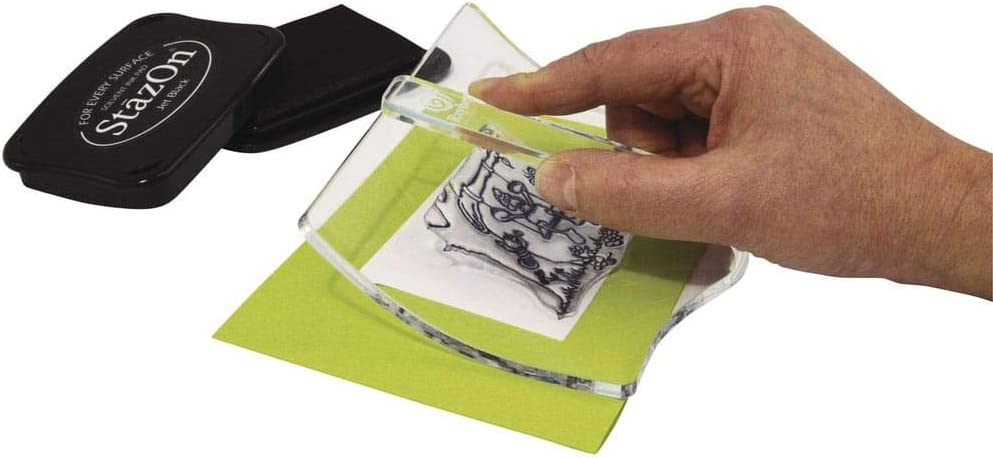 Rayher 2822700/ /Tampon acrylique bloc de swing incurv/é 150/x 110/mm