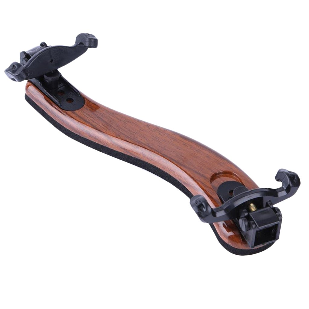 MagiDeal Adjustable Brown Shoulder Rest Pad Fiddle Support Holder For 3/4 4/4 Violin 0755004930608FRA