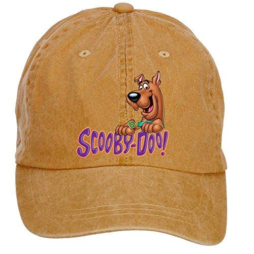 Tommery Unisex Scooby Doo Logo Hip Hop Baseball Caps