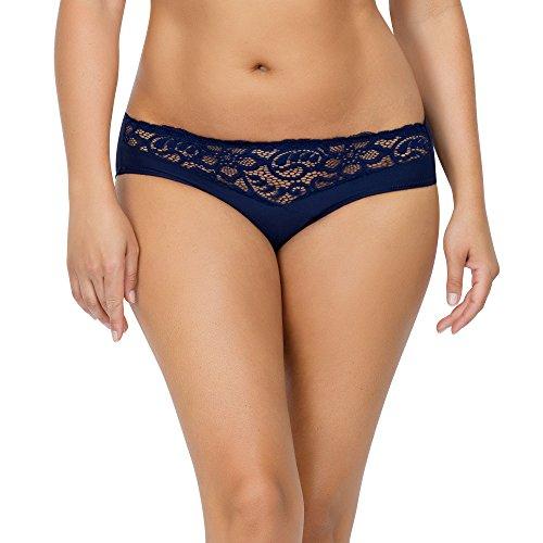 Parfait Women's Bikinis L Navy Blue, Cora P5633