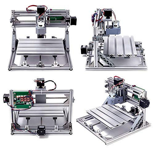 DIY CNC Router Kits 2418 GRBL Control 3 Axis Plastic Acrylic