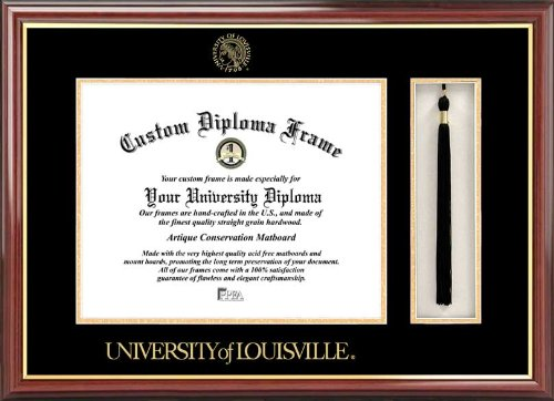 Campus Images ''University of Louisville Tassel Box and Diploma'' Frame, 14'' x 17'' by Campus Images