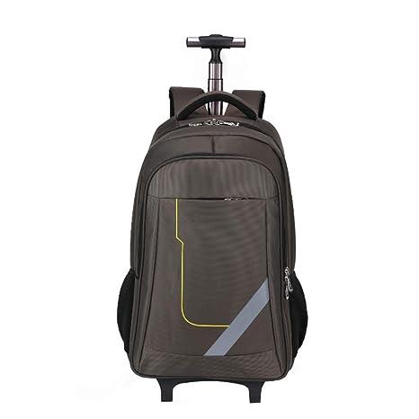 DYYTR Trolley Mochila Ruedas Mochila Sruck ACK con Ruedas Samsonite Cabina Suitcasestudent Bolsa