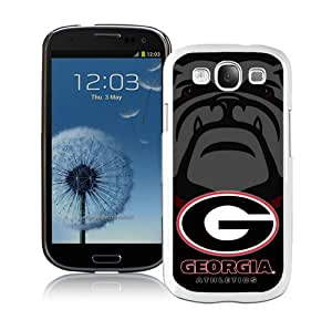 Beautiful And Unique Designed Case For Samsung Galaxy S3 With Southeastern Conference SEC Football Georgia Bulldogs 2 (2) Phone Case