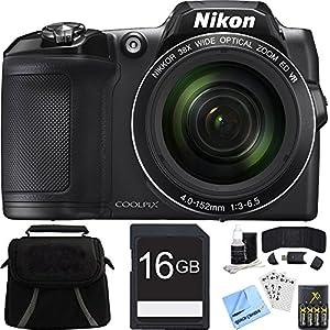 Nikon COOLPIX L840 Digital Camera w/ 38x Zoom VR Lens and Wi-Fi Bundle (Certified Refurbished)