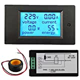 Quickbuying Low Price electronic Liquid Crystal Display AC 100A Digital LED Power Panel Meter Monitor Power Energy Voltmeter Ammeter