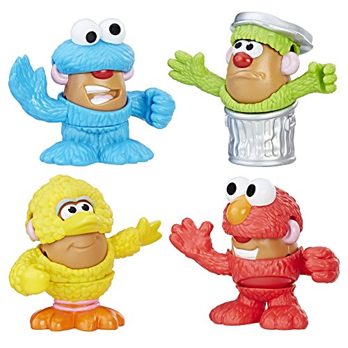 Playskool Friends Mr. Potato Head Sesame Street Spuds Mini Container