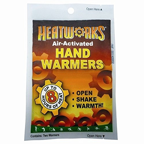 New Heatworks Air Activated Cold Weather Hand Glove Warmers 4 Pack  8 Hours Heat