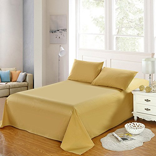 30%OFF RuiHome Luxury Soft Cotton Flat Sheet Sold Separately For Queen  Size, Solid