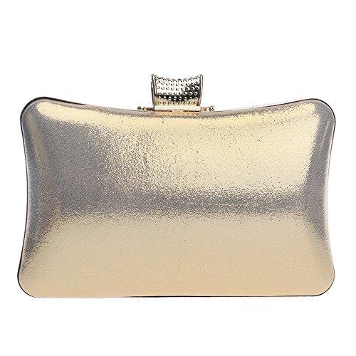 de Robe Robes Sacs Soirée Cristal gold pour Messenger Soirée Femmes KYS Soirée Sacs Métal Embrayages Strass Sac 6ExSwnvqZ1