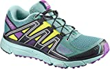 SALOMON X-Mission 3 Trail Running Shoes Womens Sz 9 North Atlantic/Eggshell