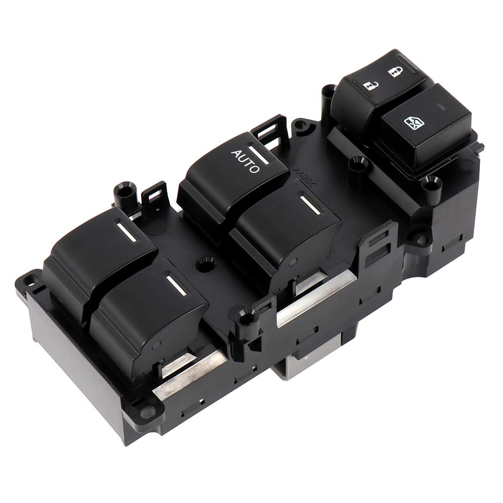 cciyu Power Window Switch Replacement fits for 2008-2012 Honda Accord Replace 35750-TB0-H01