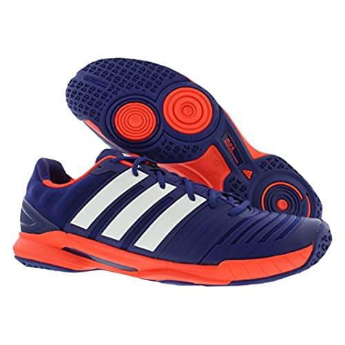 size 40 b8044 cf5b7 cheap Adidas Mens Adipower Stabil 11 Indoor Shoe-Amazon PurpleWhiteSolar  Red