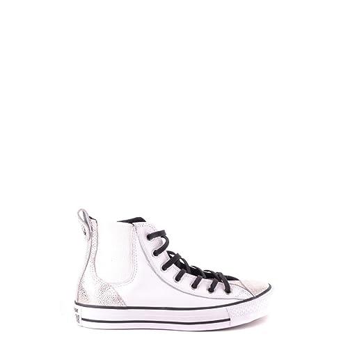 converse sneakers donna alte argento