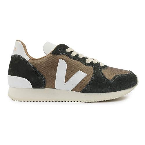 Veja Bastille Holiday - Silk/Leather - Bronze/Graphite/White - 36 EUR: Amazon.es: Zapatos y complementos