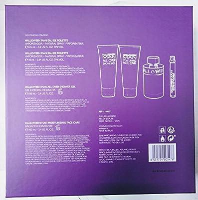 HALLOWEEN HOMBRE ESTUCHE 125ML 4 PIEZAS: Amazon.es: Belleza