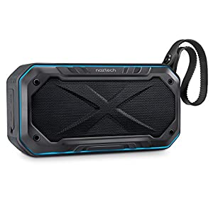 Naztech Cycle Bike Bluetooth Speaker with Bicycle Mount with 8-Hour Playtime, 33-Foot Bluetooth Range & Built-in Mic, Portable Outdoor Use Premium Sound