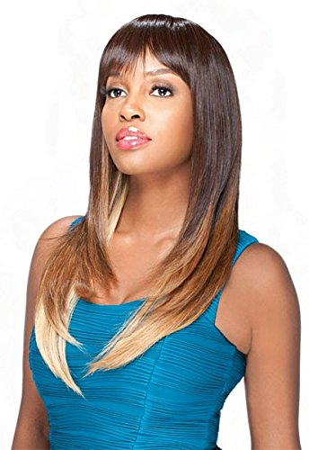 Price comparison product image Instant Fashion Wig Zara - Color 1B - Synthetic (Curling Iron Safe) Regular Wig
