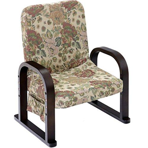 漣-さざなみ- リクライニング式TV座椅子 フラワー B075BLY24Z