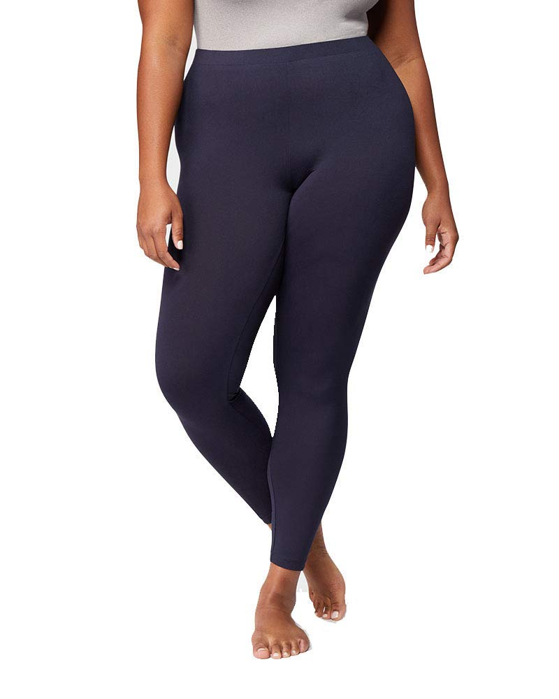 32 DEGREES Womens Lightweight Baselayer Legging, Stormy Night, Size Small by 32 DEGREES
