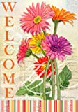 Custom Decor Summer Welcome Flag Welcome Gerbera For Sale