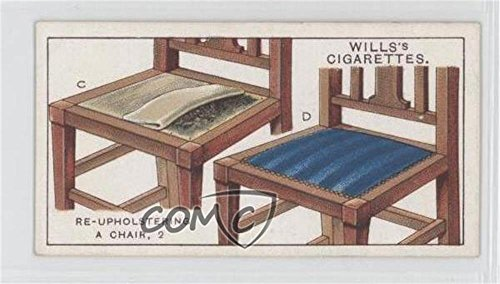 Re-upholstering A Chair, 2. (Trading Card) 1927 Wills Household Hints - Tobacco [Base] #9