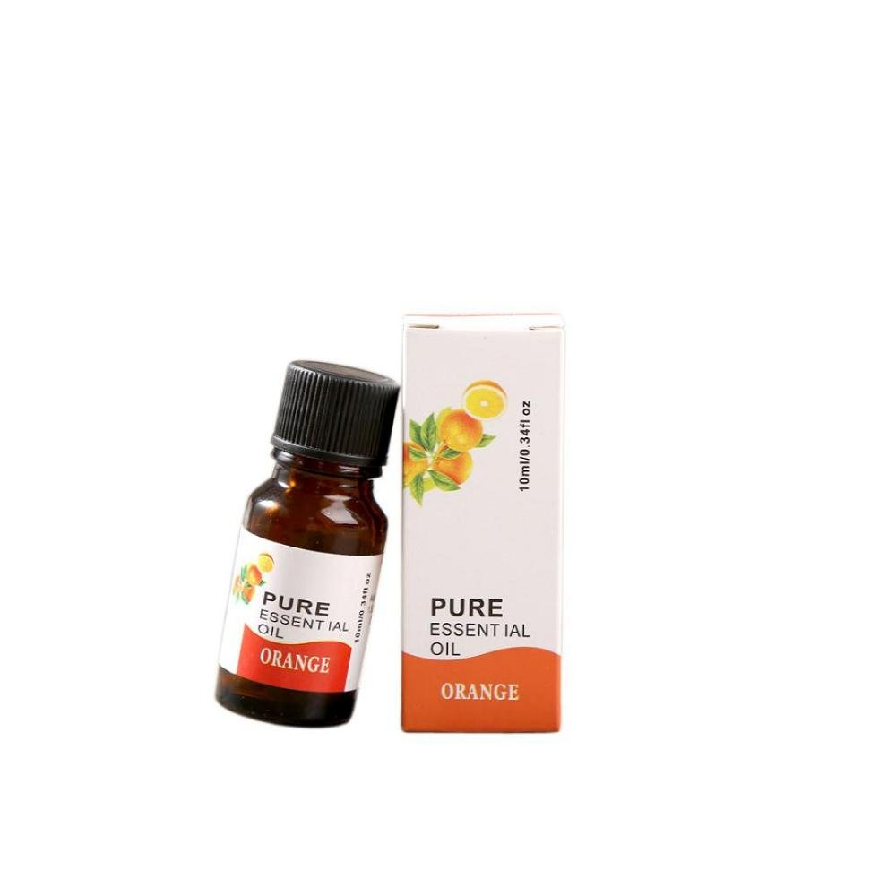 FTXJ 10ml Pure & Natural Plant Essential Oils Aromatherapy Diffuser Oils (Sweet Orange)