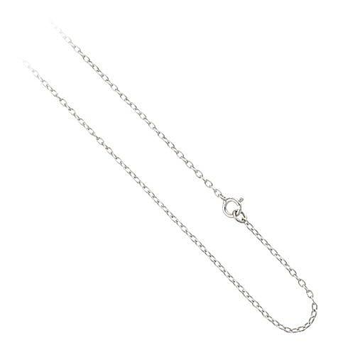 1mm breite Edle Kette Kettchen aus Sterling Silber, wählbare Längen